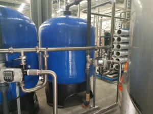 ACTIVATED CARBON FILTERS FOR WATER BOTTLING PLANT