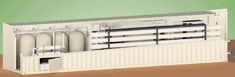 Containerised Desalination Plants