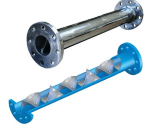 UPVC STATIC IN-LINE SUITABLE FOR CORROSIVE APPLICATIONS