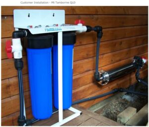 providing safe drinking water from rain water