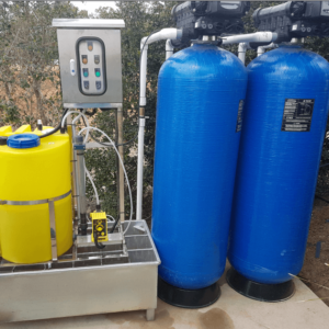 Automated backwash filters